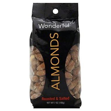 Wonderful Roasted and Salted Almonds 0.43 lbs., 6/Pack