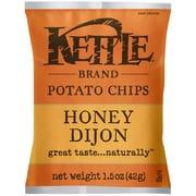 Kettle Brand Foods Snack Sizes Chips, Honey Dijon 1.5 Oz., 36/Pack