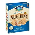 Blue Diamond Natural Almond Nut Thins Cracker Snacks 4.25 Oz.