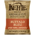 Kettle Brand Buffalo Bleu Krinkle Cut Chips 24/Pack 1.5 Oz.