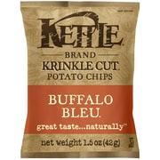 Kettle Brand Buffalo Bleu Krinkle Cut Chips 36/Pack 1.5 Oz.