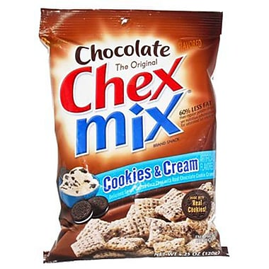 Chex Mix Chocolate and Peanut Butter 4.3 lbs. Muddy Buddies Cookies and Creme