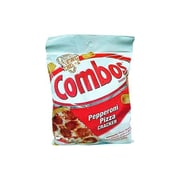 Combos Pepperoni Pizza Cracker 6.3 Oz Snack, 12/Pack