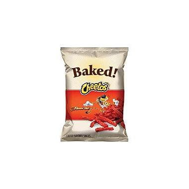 Cheetos Cheese Snacks, Crunchy Hot 1.5 Oz., 48/Pack