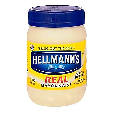 Hellmann s Real Mayonnaise, 6/Pack