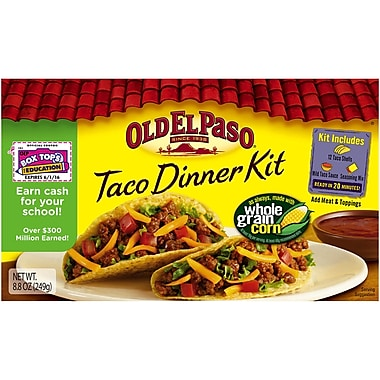 Old El Paso Taco Dinner Kit 8.8 Oz, 8/Pack
