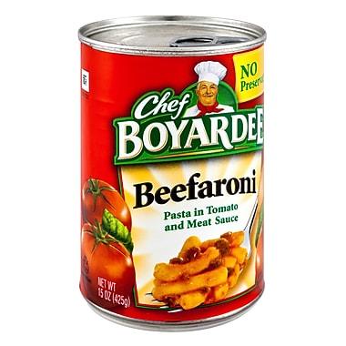Chef Boyardee Beefaroni 16/Pack 15 Oz