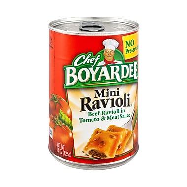 Chef Boyardee Beef 15 Oz. Ravioli, 16/Pack