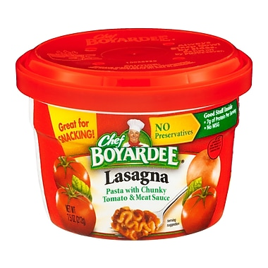 Chef Boyardee Tomato and Meat Sauce 24/Pack
