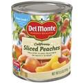Del Monte Peaches 8.5 Oz, 24/Pack