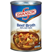 Swanson 99% Fat Free Beef Broth 14 Oz