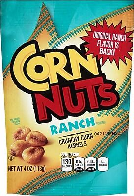 Corn Nuts Ranch Bag 4 Oz, 24/Pack 1057597