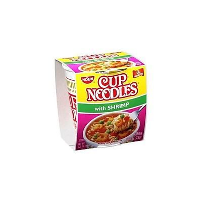Nissin Cup O Noodles Shrimp Flavor 32/Pack 2.25 Oz 1057605