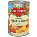 Del Monte Sliced Peaches Yellow Cling 15.25 Oz, 12/Pack