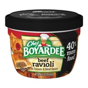 Chef Boyardee Beef Ravioli 14.25 Oz Microwavable Big Bowl Beef, 12/Pack