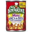 Chef Boyardee Pasta 15 Oz. Meatballs, 16/Pack