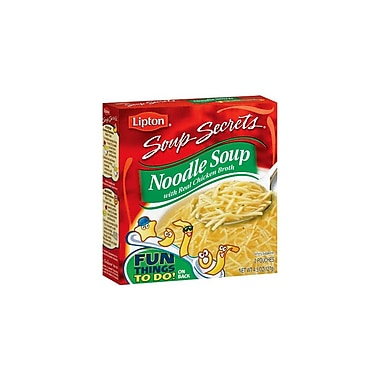 Lipton Noodle Soup with Real Chicken Broth 12/Pack 4.5 Oz.