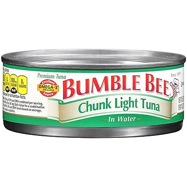 bumble bee chunk light tuna in oil 16 pack staples. Black Bedroom Furniture Sets. Home Design Ideas