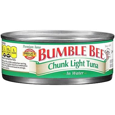 Bumble Bee Chunk Light Tuna in Oil, 16/Pack