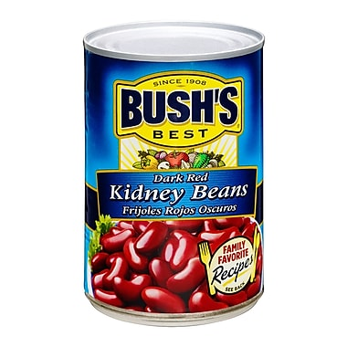 Bush Bush s Best Dark Red Kidney Beans 1 lbs., 24/Pack