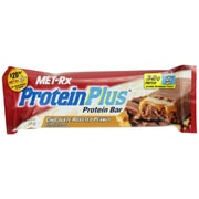 MET-Rx Protein Plus Replacement Bar Chocolate Roasted Peanuts with Caramel, 64 Oz., 12/Pack