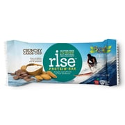 Rise Protein Bar Crunchy Carob Chip 2.1 Oz. 12/Pack