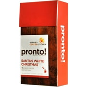 Barnie's CoffeeKitchen Pronto! Santa's White Christmas Liquid Coffee Brewsticks 6/Pack 1.83 Oz.