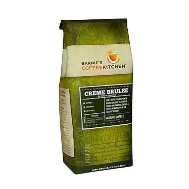 Barnie s CoffeeKitchen Creme Brulee Coffee 12 Oz., 6/Pack