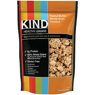 KIND Peanut Butter Whole Grain Clusters 11 Oz., 6/Pack