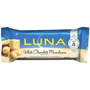 Luna Bars Luna Nutrition Bar for Women White Chocolate Macadamia 1.69 Oz.