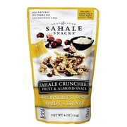 Sahale Snacks Cranberries Sesame Seeds Honey Crunchers 8/Pack