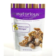 nutorious Nut Confections Blueberry Lemon Merengue 4 Oz. Nutrition Bar