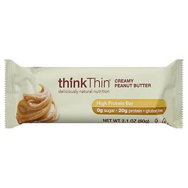 thinkThin Creamy Peanut Butter 0.13 lbs., 10/Pack