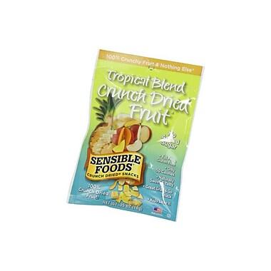 Sensible Foods Tropical Blend Crunch Dried Snacks 48/Pack 0.35 Oz.