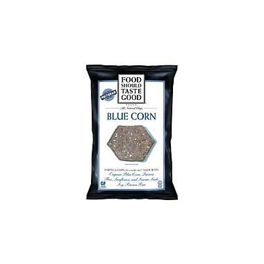 Food Should Taste Good Tortilla Chips, Blue Corn 24/Pack 1.5 Oz.