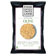 Food Should Taste Good Olive Tortilla 1.5 oz. Chips 24/Pack 1.5 Oz.