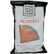 Food Should Taste Good Tortilla Chips Jalapeno, 8/Pack