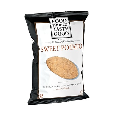 Food Should Taste Good Sweet Potato Tortilla Chips 6 Oz., 8/Pack