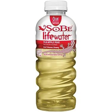 SoBe Lifewater Nutrient Enhanced Hydration Beverage Fuji Apple Pear, 12/Pack