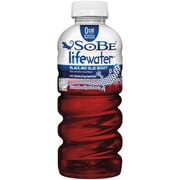 SoBe Lifewater Forti-Fight Black and Blue Berry 24/Pack 20 Oz.