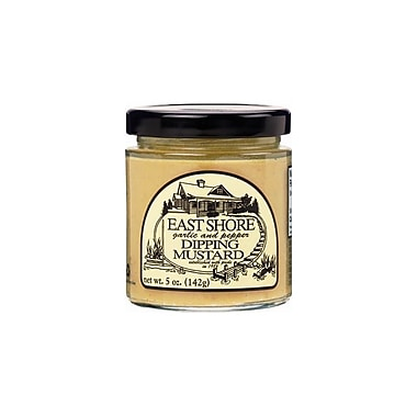 East Shore Garlic and Pepper Dipping Mustard 5 Oz., 12/Pack