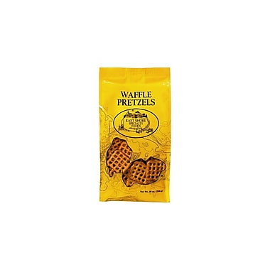 East Shore Specialty Foods Waffle Pretzels 10 oz., 12/Pack