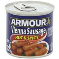 Armour Hot & Spicy Vienna Sausage 4.75 Oz. 24/Pack