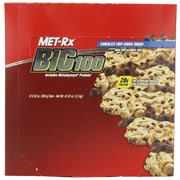 MET-Rx Big 100 Meal Chocolate Chip Cookie Dough 3.5 Oz. 3/Pack