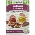 gopicnic Salami & Cheese Ready to Eat Meal 3.7 Oz., 6/Pack