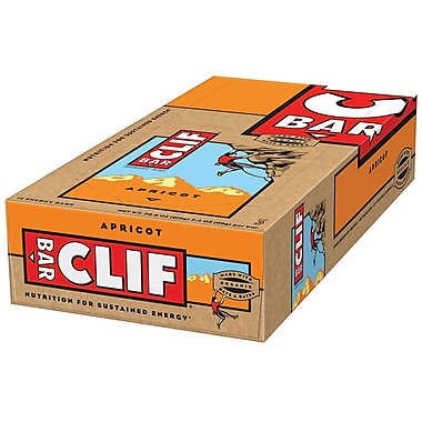 Clif Bar Apricot 2.4 Oz., 24/Pack
