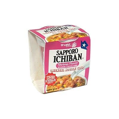 Sapporo Ichiban Shrimp Flavor Oriental Noodle Soup 2.25 Oz. 24/Pack 1058652
