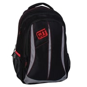 Off Track City Backpack, Black/Grey