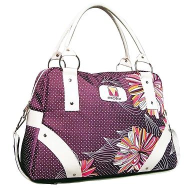 Motiv Ladies Laptop Briefcase, Purple