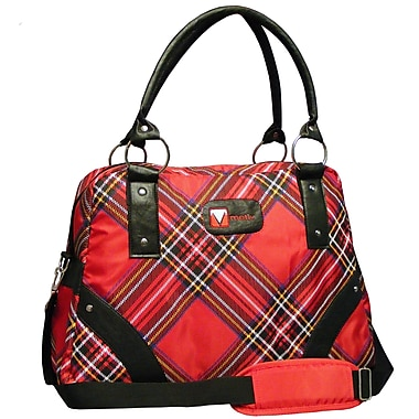 Motiv Ladies Laptop Briefcase, Red